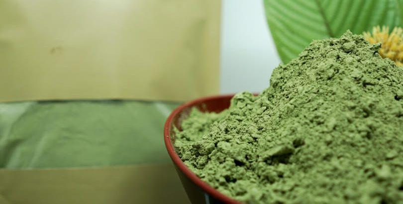 zelený kratom