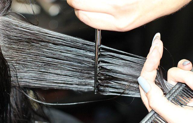 kadeřnické nůžky
