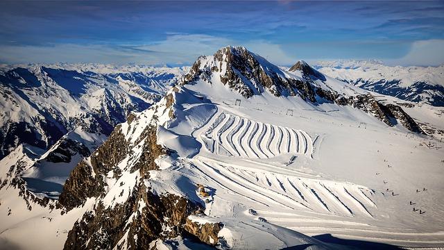 lyžování Rakousko